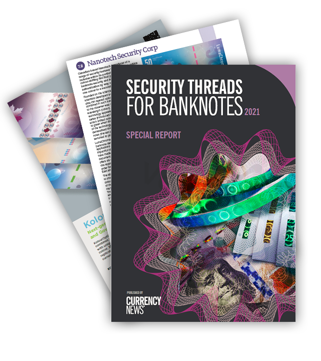 LumaChrome Featured in Security Threads for Banknotes Report 2021